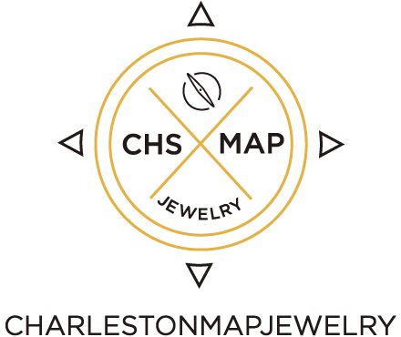 Charleston Map Jewelry